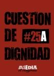 Cartel 25A Cuestión de dignidad